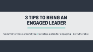 engaged leader