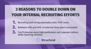 Structural Guest Blog - Internal Hiring
