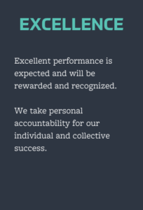 excellence value